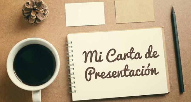 Carta de presentación currículum